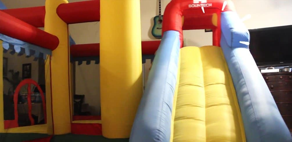 Can You Put a Bounce House Inside