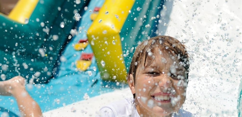 Fix a Tear in an Inflatable Water Slide