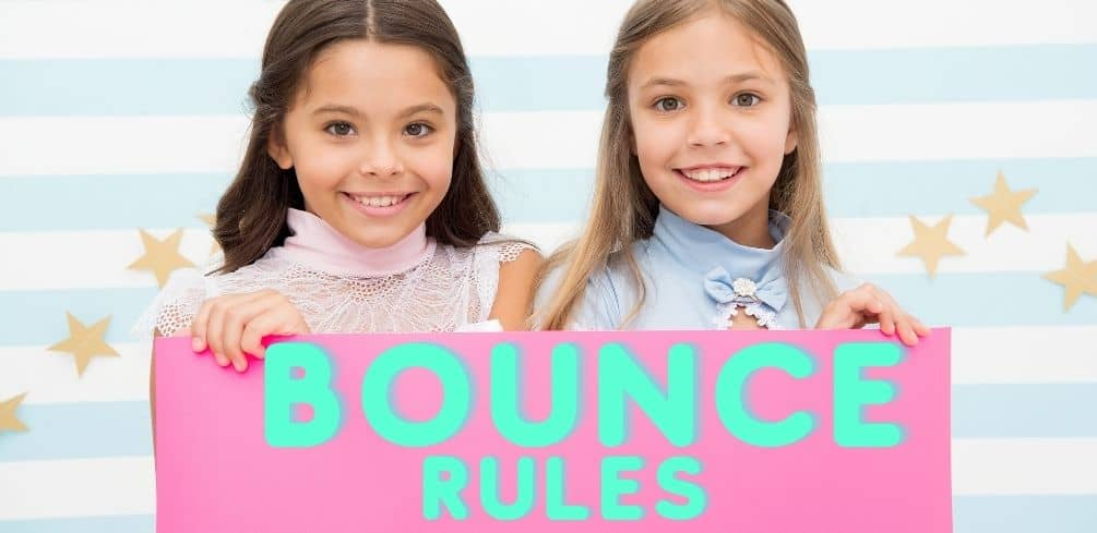 Bounce House Rules
